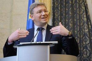 "Фюле доволен результатами саммита ""Украина-ЕС"""