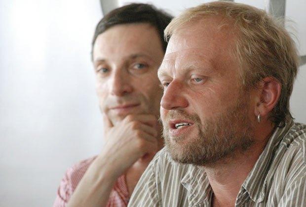Виталий Портников и Тарас Прохасько