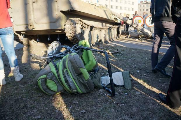 Фото с места нашумевшего смертельного ДТП в Константиновке
