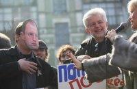 Колесниченко собирается штрафовать протестующих в масках