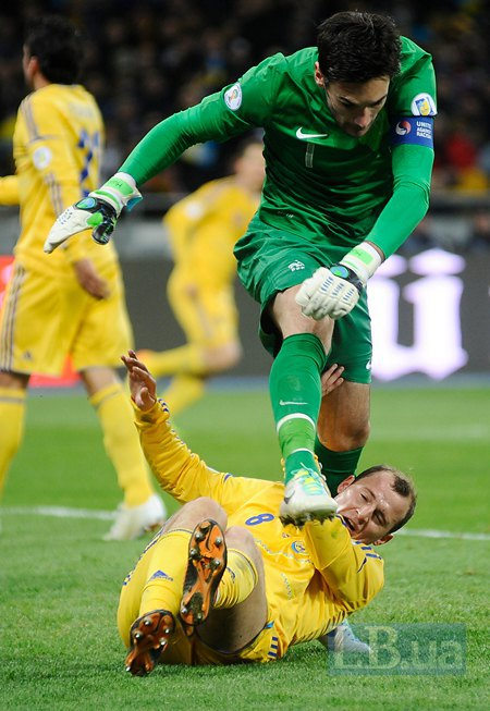 Украина - Франция! ПОБЕДА 2-0!!! (фото,видео)