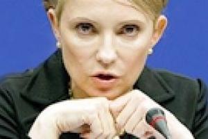 Тимошенко считает курс доллара по 7,5 завышенным