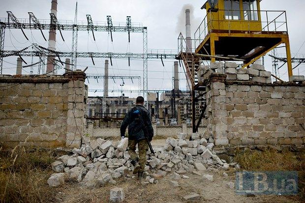 Луганская ТЭС в Счастье