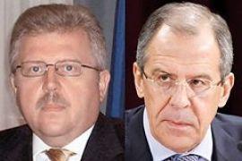 Лавров и Хандогий продолжили переговоры