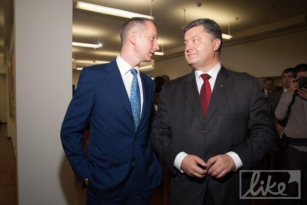 Петр Порошенко и новоназначенный глава АП Борис Ложкин