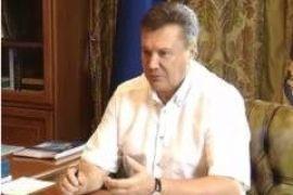Янукович стал героем скрытой камеры