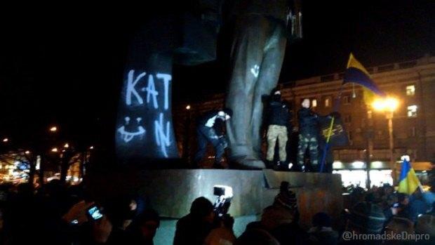 Памятника Петровскому в Днепропетровске нет ни в одном реестре Украины, - Кириленко - Цензор.НЕТ 9412