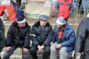 Луганские чернобыльцы пожаловались Януковичу на новые пенсии