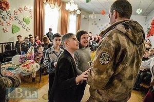 Военные провели урок патриотизма для воспитанников школы-интерната