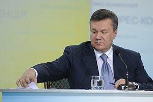 Янукович разозлися на министров без тетрадок