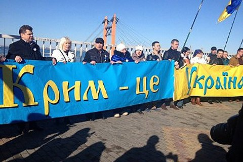 ВРоссии предлагают вести учет украинцев, прибывающих воккупированный Крым