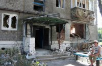 Боевики обстреляли оккупированную Горловку из минометов и обвинили силы АТО, - штаб
