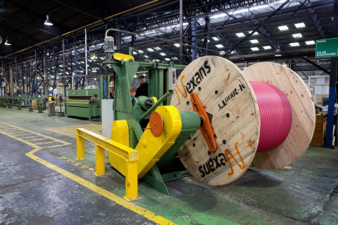 НаЛьвовщине открыли третий завод Nexans попроизводству кабелей