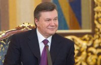 Янукович поздравил грузинского коллегу с юбилеем