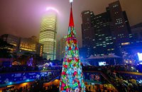 Обзор новогодних елок мира