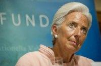 Глава МВФ призвала Украину выполнить обязательства перед фондом