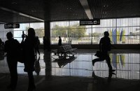 """Железнодорожный вокзал Киева, аэропорты Борисполь и Жуляны """"заминированы"""""""