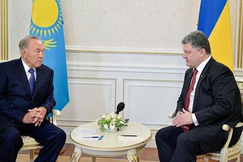 Порошенко отбыл в Казахстан