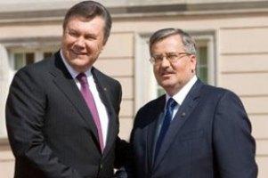 Тема разговора Януковича и Коморовского держится в секрете