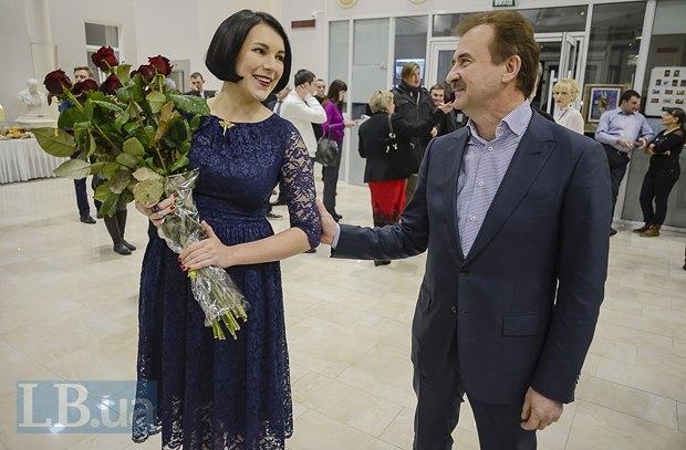 Соня Кошкина и Александр Попов