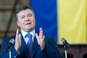 Янукович открыл хлебопекарный комплекс