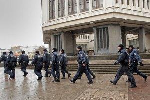В день референдума крымская милиция проводит антитеррористические учения