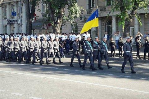 Украинское подразделение примет участие ввоенном параде к25-й годовщине независимости Молдовы