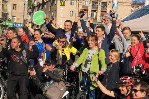 В Киеве появятся патрульные на велосипедах