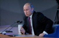 Путин заявил, что Россия будет наращивать торговлю оружием