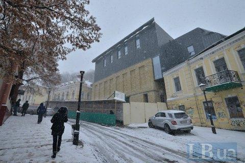 Влада Києва вважає, що зовнішній вигляд театру на Андріївському узвозі потрібно доопрацювати