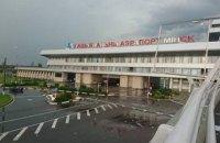 Из-за сильной бури в аэропорту Минска столкнулись два самолета