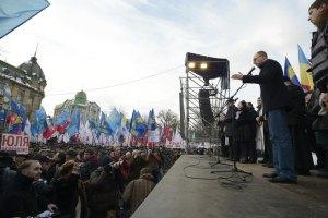 """Яценюк: власть заболела новой болезнью – """"политическим дебилизмом"""""""