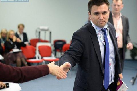 Клімкін пояснив причини відтермінування розгляду Європарламентом питання скасування віз для України