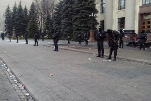 В Харькове продолжается антитеррористическая операция