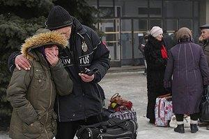 Из Дебальцево эвакуировали мирное население