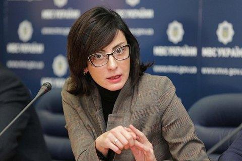 Деканоидзе призвала провести заседание СНБО по янтарю