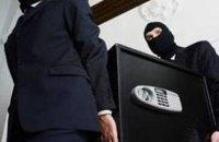 Из львовского банка похитили сейф с деньгами