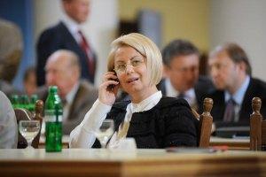 Герман поклялась быть с Януковичем до самого конца
