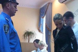 Дочь Тимошенко поехала из суда в больницу