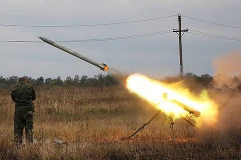 Режим «повної тиші»: бойовики обстріляли українців зРСЗВ «Град»