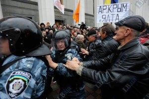 Литвин обещал рассказать Януковичу и Азарову о требованиях чернобыльцев
