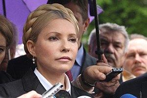 Тимошенко: отставка Азарова оппозиции не нужна