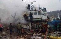 У Севастополі стався вибух на судні, є постраждалі