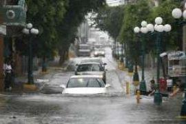 Режим ЧС объявлен в 3-х мексиканских штатах из-за наводнений