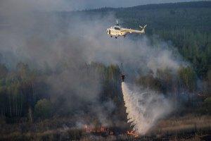 Яценюк назвал сегодняшний пожар в Зоне самым сильным с 1992 года