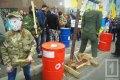 На митинге в поддержку Савченко в Одессе обезглавили Путина и забросали консульство яйцами