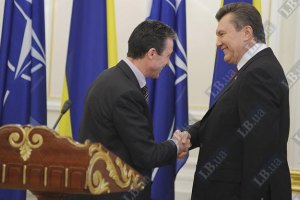 Расмуссен доволен встречей с Януковичем в Нью-Йорке