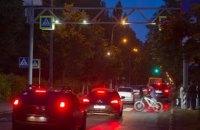 Киев установит ночное освещение 260 пешеходных переходов