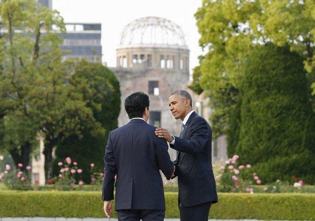 Обама стал первым американским президентом, посетившим Хиросиму