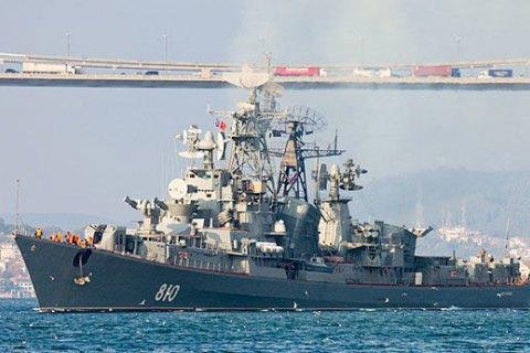 Турецькі рибалки прийняли російський есмінець закорабель НАТО